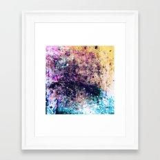 Strung Out On Color Framed Art Print