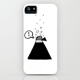 The brain of a ninja iPhone Case