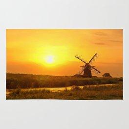 Riverside Windmill Rug