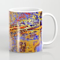 chicago Mugs featuring chicago by donphil