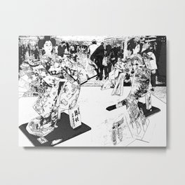 The Queens Metal Print