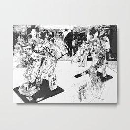The Queens Metal Print
