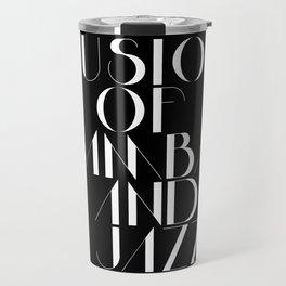 Bossa Nova - Samba & Jazz Travel Mug