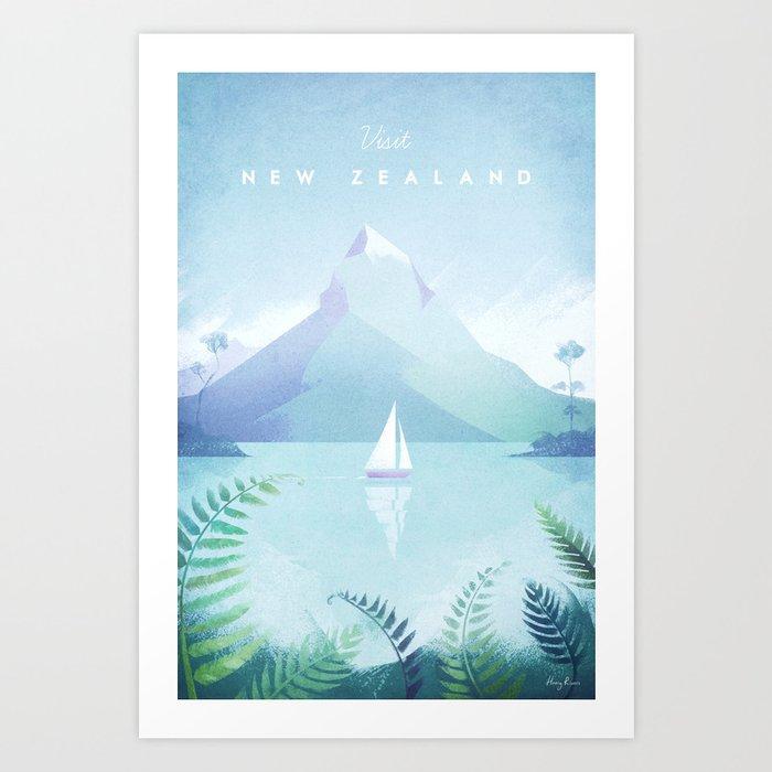 New Zealand Kunstdrucke