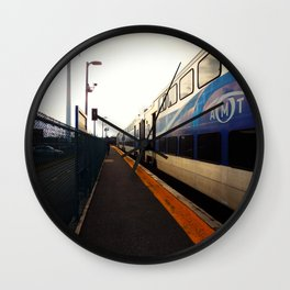 Station De la Concorde à Laval - December 25th, 2015 Wall Clock