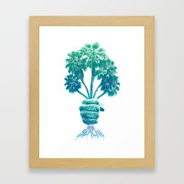 Beach Bouquet Framed Art Print