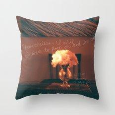 October 25 Throw Pillow