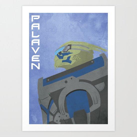 Palaven - Mass Effect Art Print