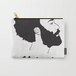 Childish Gambino - Minimalist profile portrait Carry-All Pouch