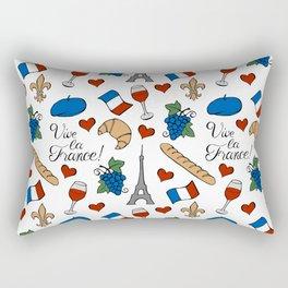 Vive la France! Rectangular Pillow