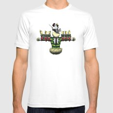 chorus line White SMALL Mens Fitted Tee