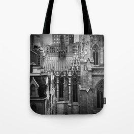 Manhattan Rooftops Tote Bag