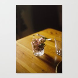 Hand Picked Flowers Canvas Print