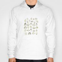 faces Hoodies featuring Faces by Wood + Ink