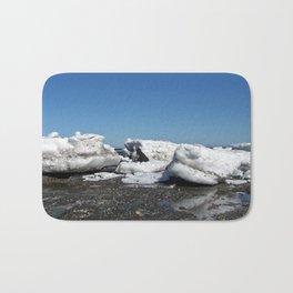 Icebergs and the big Dog Bath Mat
