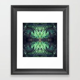 Fern Framed Art Print