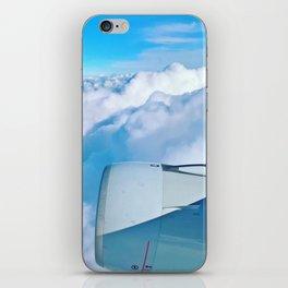 Lufthansa Flight from Munich to LAX, November 2017 iPhone Skin