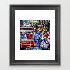 Istanbul Travel Diary - 05 Framed Art Print