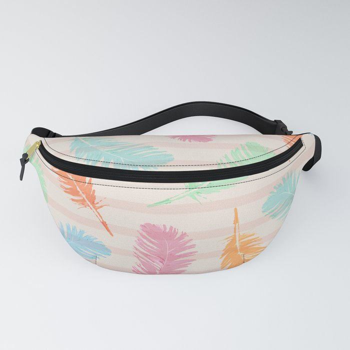 Dancing summer feathers Fanny Pack