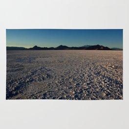Bonneville Salt Flats - Utah Rug
