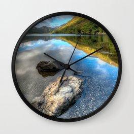 Autumn Reflection Wall Clock