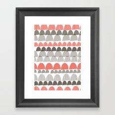 Shroom Coral Framed Art Print