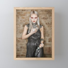 Remembering the Year of the White Metal Rat Framed Mini Art Print