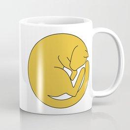 Cat At The Moon Coffee Mug