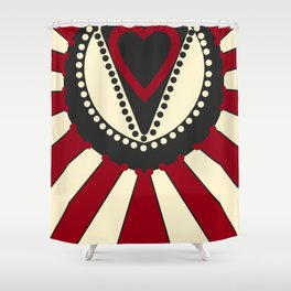 LOVE TTY N2 Shower Curtain