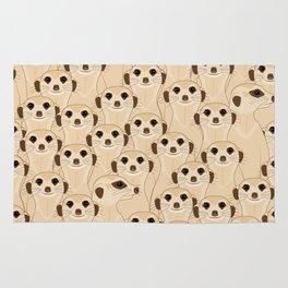 Meerkats - Suricata Rug