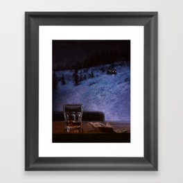 Granite State Framed Art Print