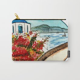 Santorini in a Nutshell Carry-All Pouch