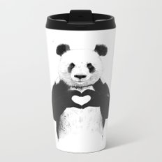 All you need is love Metal Travel Mug