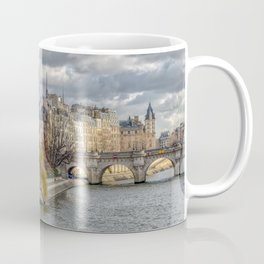 Pont Neuf and ile de la Cite in Paris Coffee Mug
