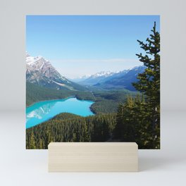 Canada Photography - Banff National Park From The Mountain Mini Art Print