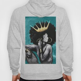 Naturally Queen VI  TEAL Hoody