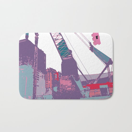 NY#3 (Lost Time) Bath Mat