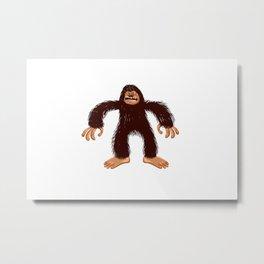 Angry bigfoot Metal Print
