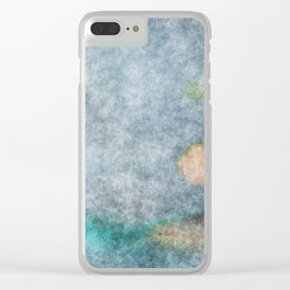 stained fantasy microorganisms Clear iPhone Case
