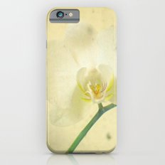 White Orchid Slim Case iPhone 6s