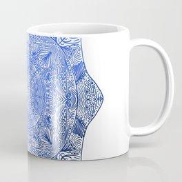 Blue on white Coffee Mug