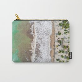 Caribbean beach Carry-All Pouch