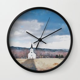 Simple Faith Wall Clock