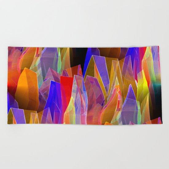 towel full of colors -7- Beach Towel