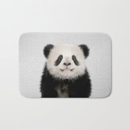 Panda Bear - Colorful Bath Mat