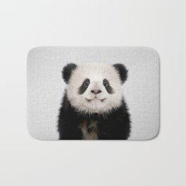 Panda Bear - Colorful Bath Mat