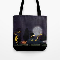 Voyage by night II (animal party) Tote Bag
