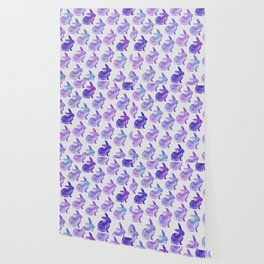 Watercolor Bunnies 1K by Kathy Morton Stanion Wallpaper