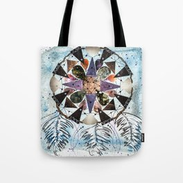 Dream Catcher Mandala Tote Bag