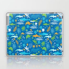 Sharks, Sting Rays and Turtles Laptop & iPad Skin